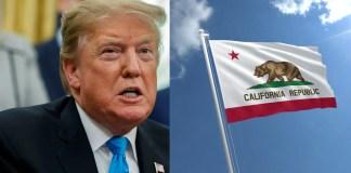 Trump tax return California 2020
