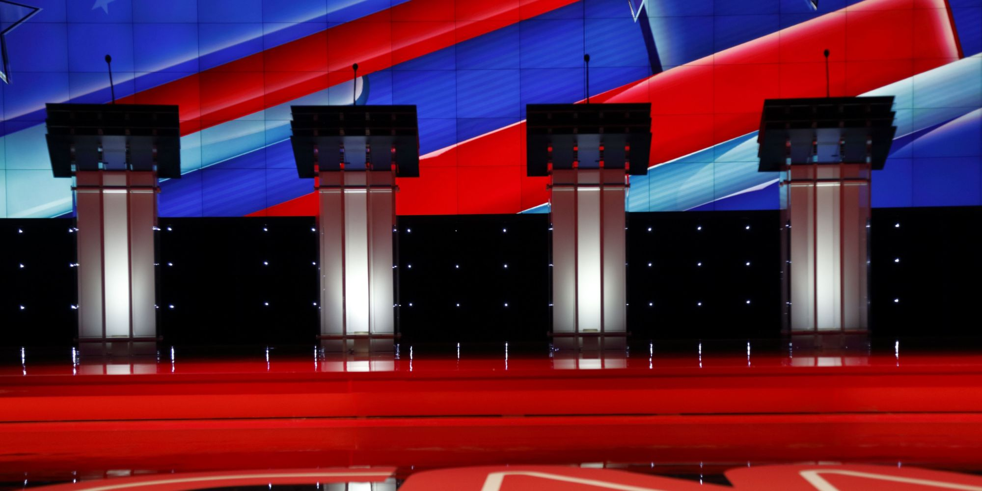 Nbc Releases Podium Order For The First Democratic Debate