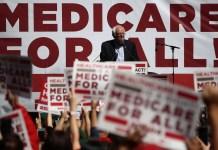 Bernie Sanders Medicare for all rally