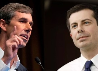 Beto O'Rourke and Pete Buttigieg