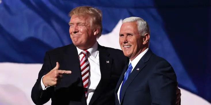 Trump Pence VP 2020