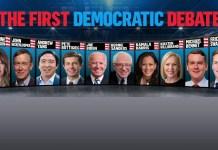 First Democratic Debate Night 2