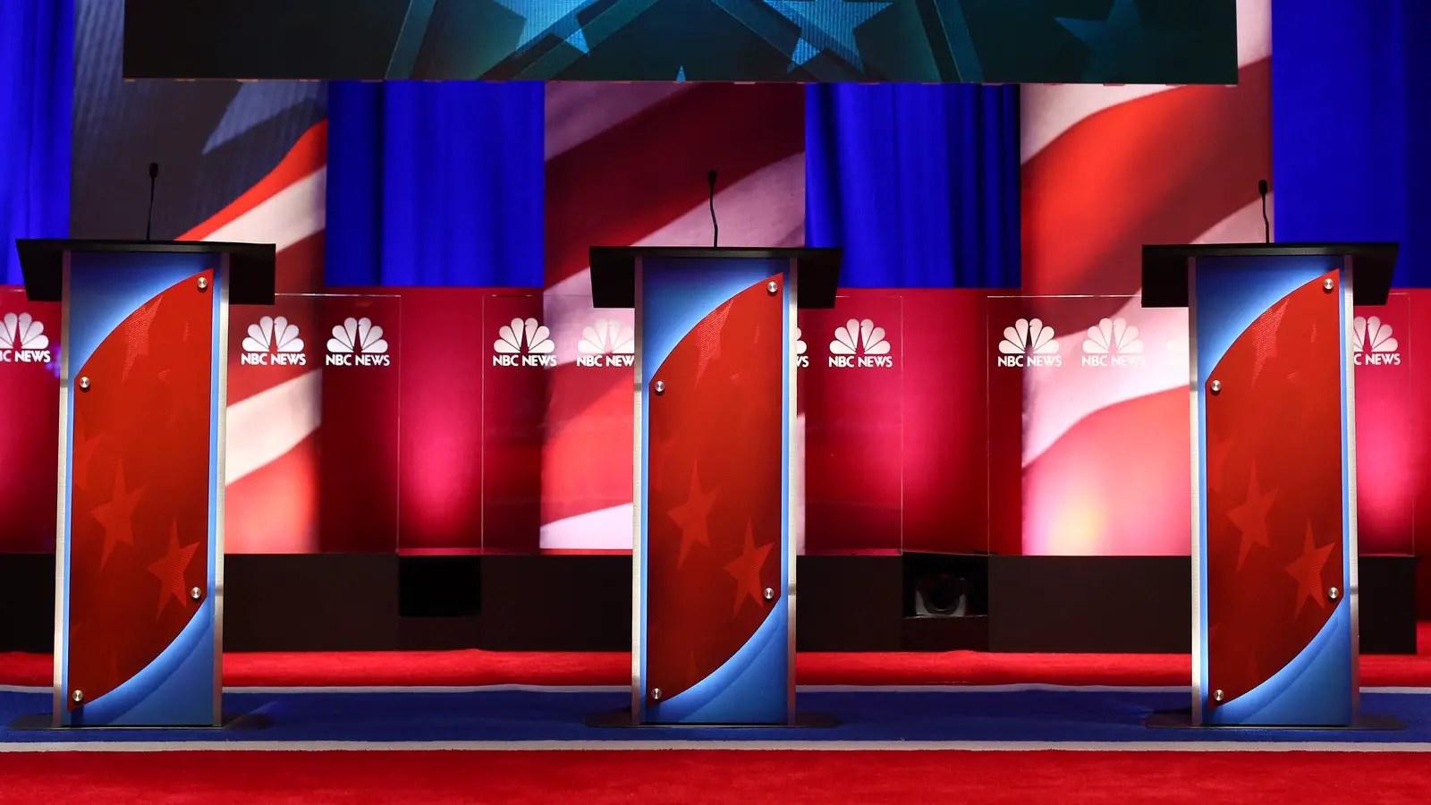 NBC News Democratic Debate