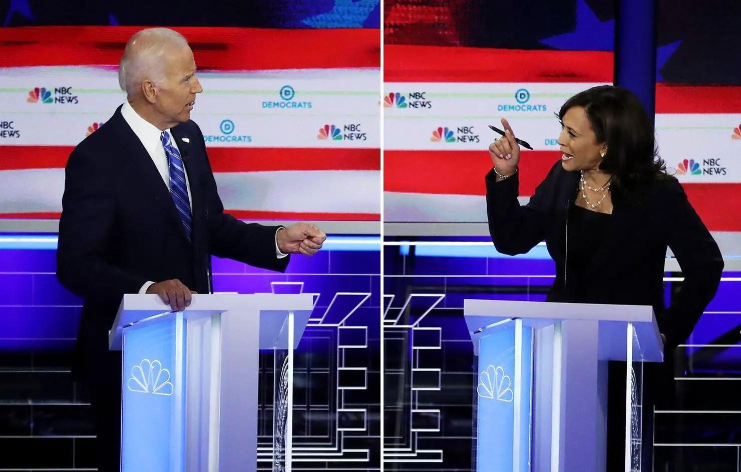 Post Democratic Debate Kamala Harris Registers Rise in Supporters