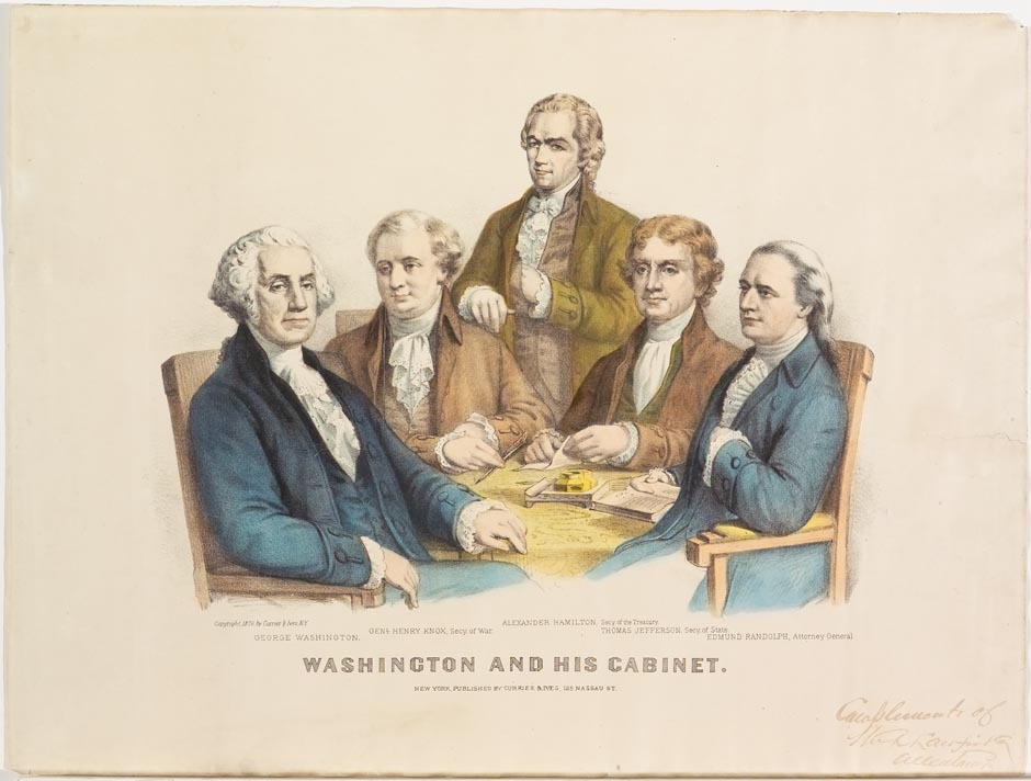 washingtons cabinet | Centerfordemocracy.org