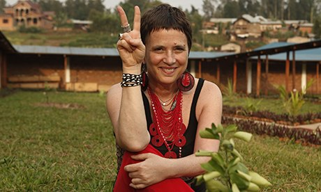 photo of Eve Ensler from the Guardian.
