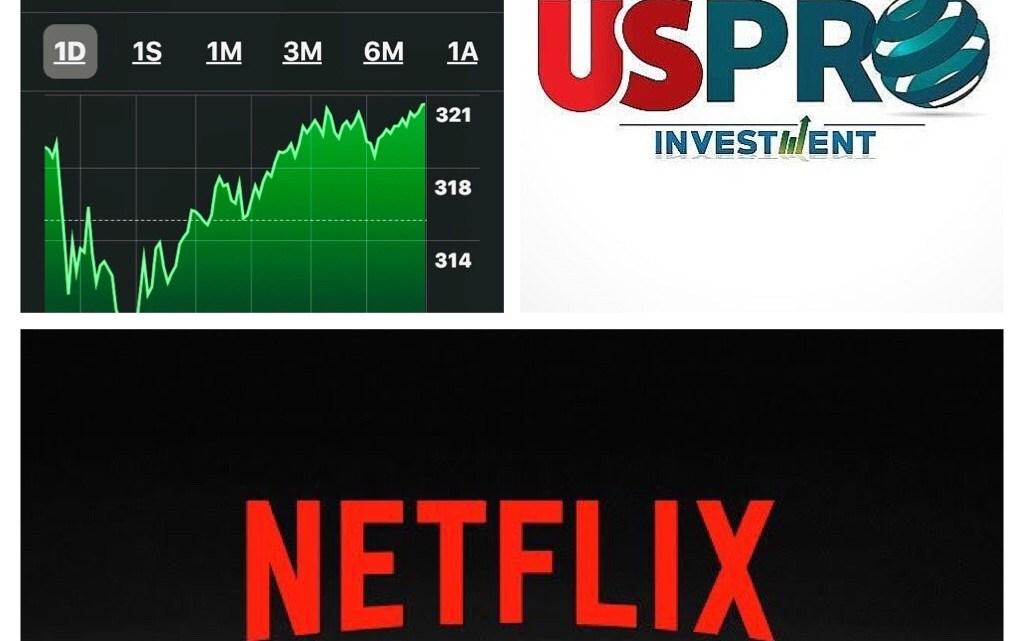 Netflix gana en los Golden Globes y en el Stock Exchange.
