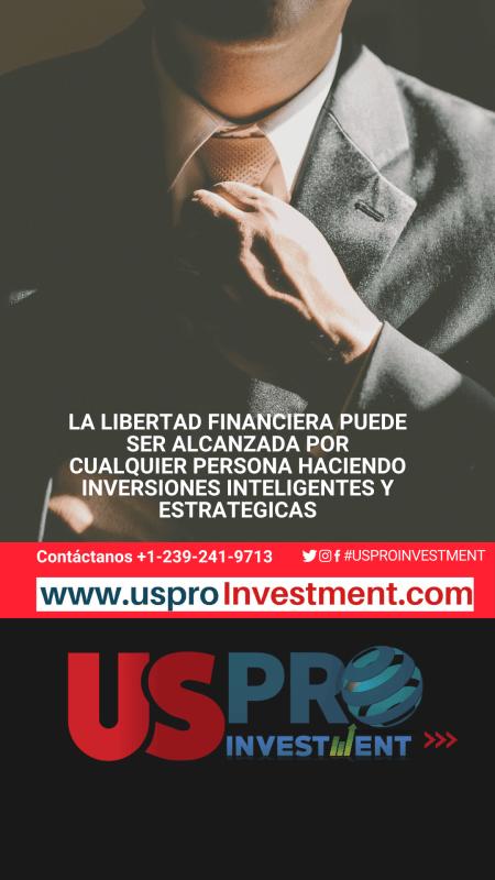 Libertad financiera Us Pro Investment