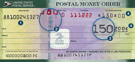 Giros postales | USPS