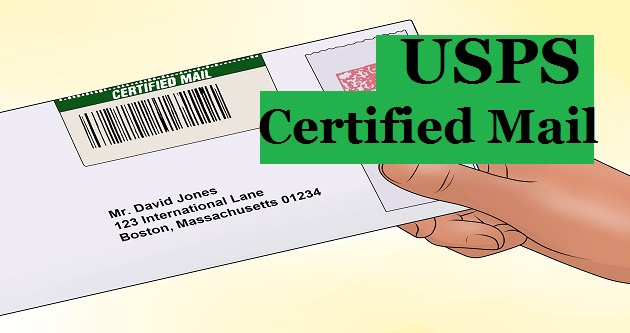 How To Find Out Who Sent A Certified Letter.Usps Certified Mail Cost And Return Receipt