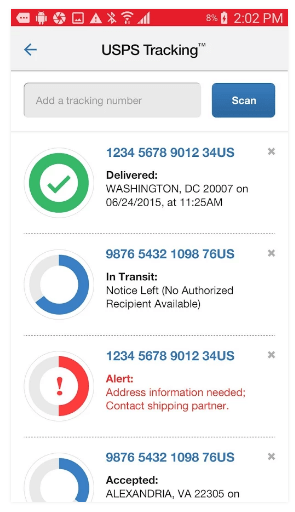 USPS App on Play Store