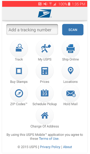 USPS Mobile App on Play Store