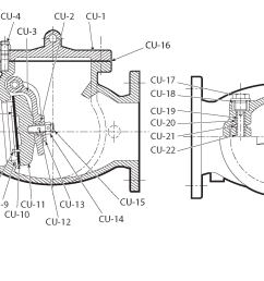 diagram of swing check valve [ 2084 x 1207 Pixel ]