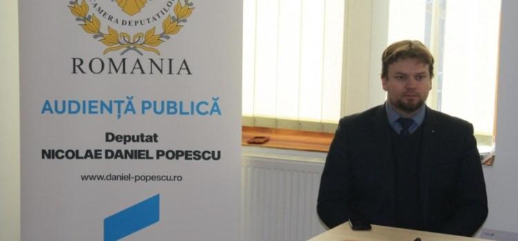 Deputatul USR Daniel Popescu a deschis un nou birou parlamentar în Câmpulung Moldovenesc