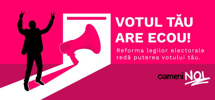 """USR va transpune în proiect de lege """"Oameni noi în politică"""""""