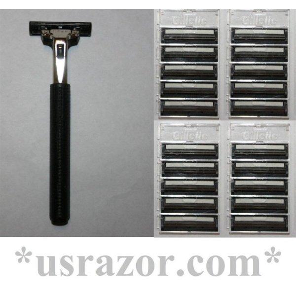 Gillette Atra Razor Blades Fit Schick Slim Twin