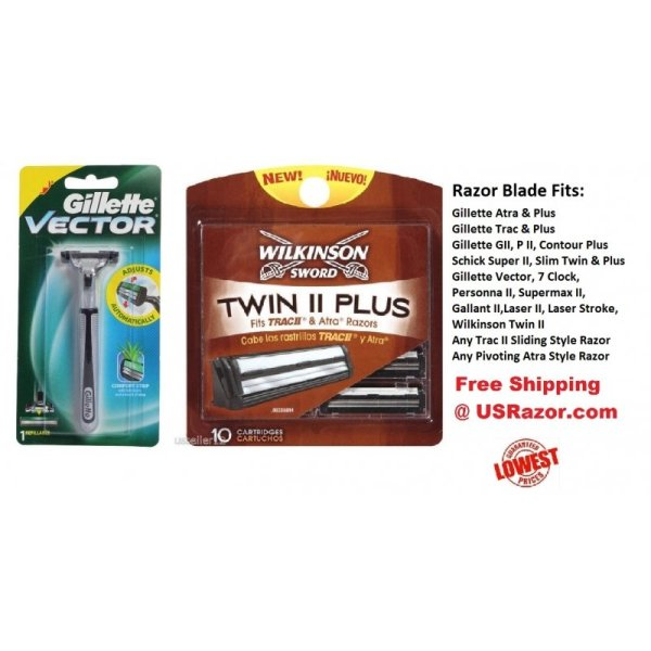 Wilkinson Super Blades Cartridges Refills Ft