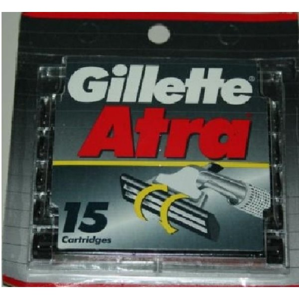 Gillette Atra Razor Blades Refills Cartridges