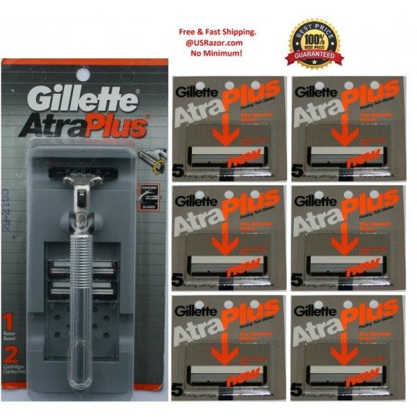 Gillette Atra Razor Blades Cartridges Shaver Usa
