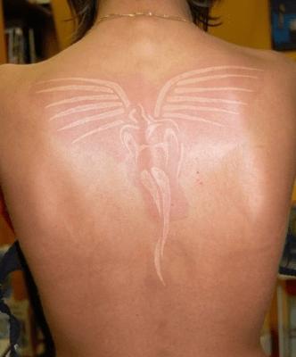 White-Tattoos-Angel