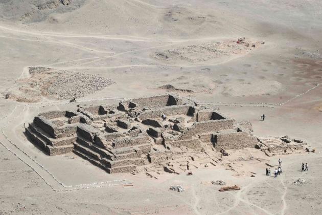 el paraiso pyramid