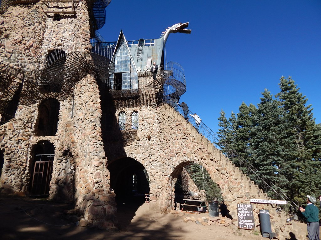 Bishop Castle, Dragon Profile