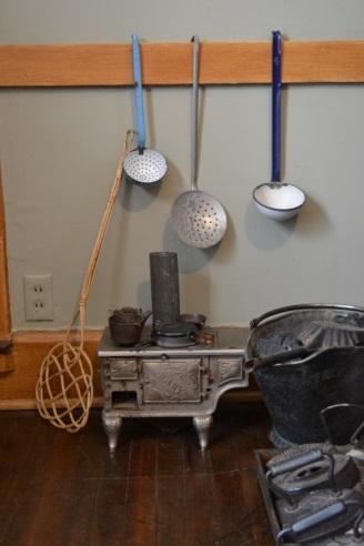 Matilda's kitchen play set. Photo courtesy of Sherrie Horn.