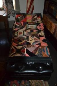 Matilda's scrap quilt. Photo courtesy of Sherrie Horn.