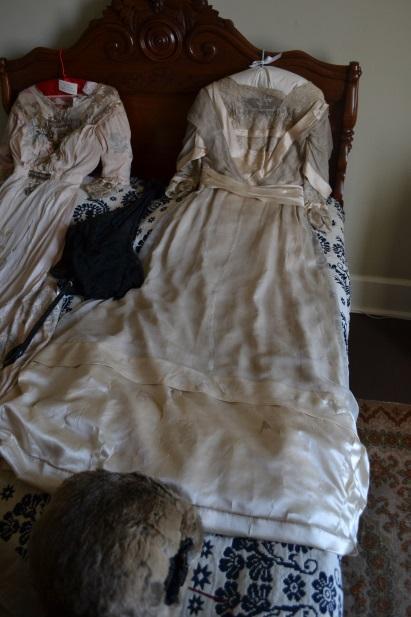 Mary's wedding dress. Photo courtesy of Sherrie Horn.