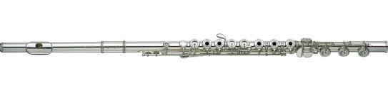 A modern C flute. (Credit: Interstatemusic.com)