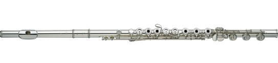 A modern C flute. (Credit: Interstatemusic.com)
