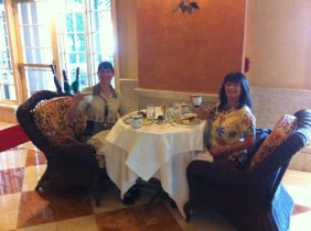 Tea at the Broadmoor. (Credit: Cheryl Ray)