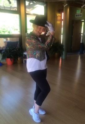 Suellen McAndrews, Dance Instructor, Sunwater Spa, Colorado Springs, CO.
