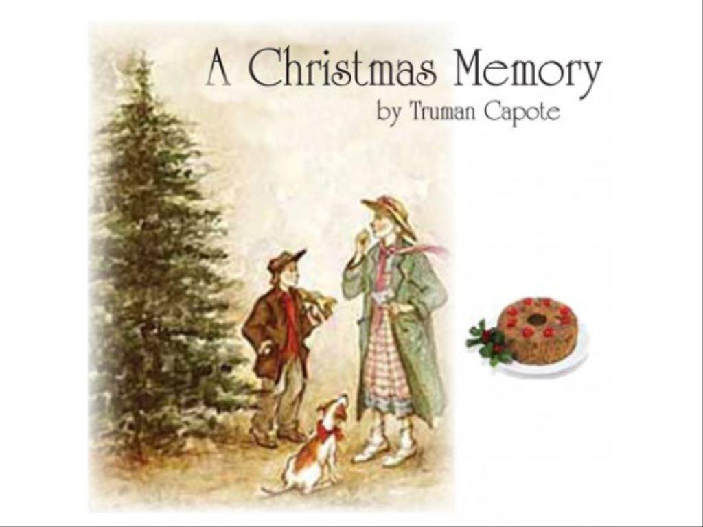 Truman Capote Christmas Memory Text | Christmaswalls.co