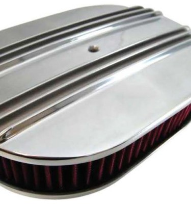 Oval Aluminum Air Cleaner Sets