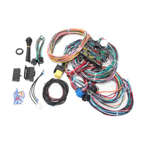 small resolution of universal 14 circuit wire harness kit