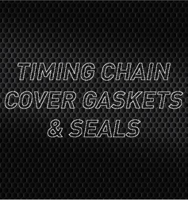 Timing Cover Gaskets, Seals & Bolts