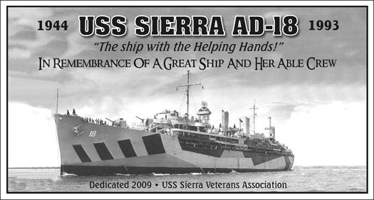 USS Sierra AD-18 Veterans Association