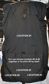 Dress Uniform Bag - Made in USA