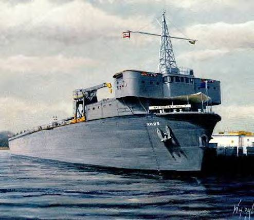 USS Waterford ARD-5, Groton Sub Base, Connecticut