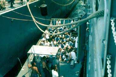 USS Hector AR7 Navy Repair Ship  Ports of Call Da Nang
