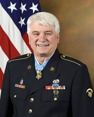 James C. McCloughan, recipient of the Medal of Honor