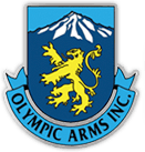 Olympic Arms logo (shield)