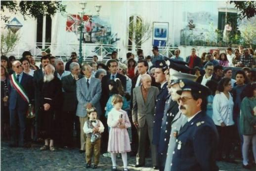 Cerimonia in piazza