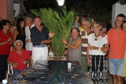 Rosalba Longo è stata omaggiata della Cycas  promessa