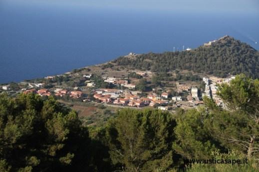 Panorama dalla montagna