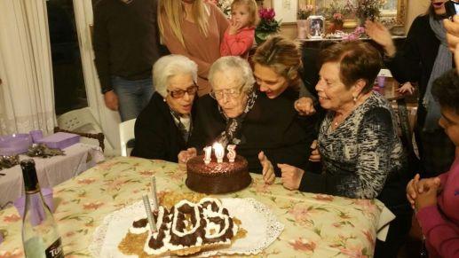 Compleanno Maria Bertucci Giordano