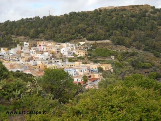 Ustica, panorama visto dalla Torre Santa Maria
