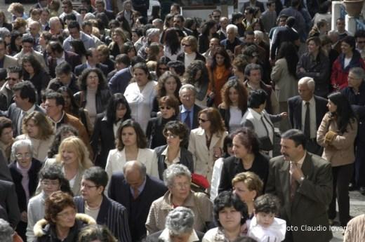 Ustica, Processione Pasqua 2004