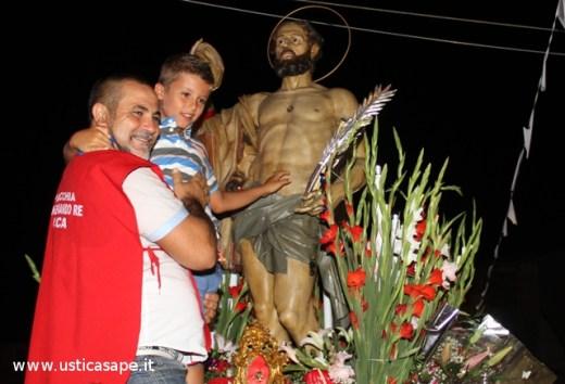 Bella foto ricordo con San Bartolo